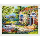 Набор для вышивания Чудесная Игла №47-05 «Дольче вита» 40*32 см