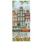 Набор для вышивания ANCHOR PCE814 «Улица Амстердама» 32*14 см