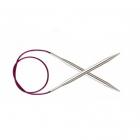 Спицы круговые Knit Pro  Nova Metal 100 см 2,0 мм/  10361 никелированная латунь
