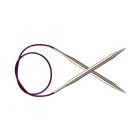 Спицы круговые Knit Pro  Nova Metal  60 см 4,0мм/  11322 никелированная латунь