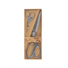 Набор: ножницы портн.(20см) + цапельки (9см)  Maxwell premium арт.111564 серебро