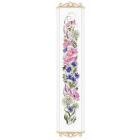 Набор для вышивания Риолис №1866 «Цветочное ассорти» 19*90 см