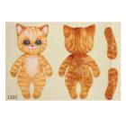 Набор для творчества «Велюрики» Кот рыжик 11 см арт.612798