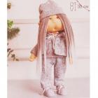 Набор текстильная игрушка АртУзор «Мягкая кукла Коринн» 613276 30 см