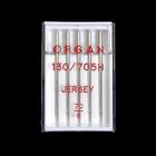Иглы быт. маш. ORGAN трикотаж Jersey №70 (уп. 5 шт.)