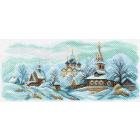 Рисунок на канве МП (24*47 см) 1625 «Зимний Суздаль»