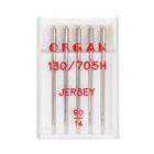Иглы быт. маш. ORGAN трикотаж Jersey №90 (уп. 5 шт.)