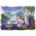 Рисунок на канве МП (37*49 см) 1628 «Ночь на Ивана Купалу»