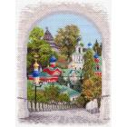 Рисунок на канве МП (37*49 см) 1644 «Псково-Печерская лавра»