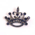 Украшение ГСХ469 36,5*44,5 мм корона 900574 т.никель