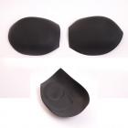 Чашечки корсетные 3110 с «острым уступом» push-up р.40 чёрный 7727134