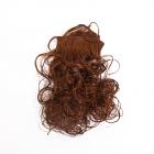 Волосы для кукол (трессы) кудри  50*20 см AR746 7728172 коричневый
