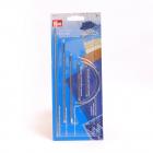 Иглы ручные PRYM 131121 для матрасов, ткачества, упаковки и мебели (уп 6 шт) 161196