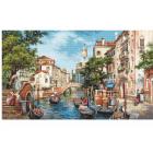 Набор для вышивания Luca-S В589 «Улочки Сан-Поло» 55*32,5 см