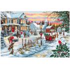 Набор для вышивания Luca-S В595 «Канун Рождества» 48*32,5 см