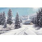 Набор для вышивания Овен №1205 «Зимний день» 40*27 см