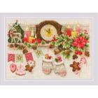 Набор для вышивания Риолис №1903 «Рождественская полка» 21*30см