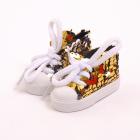 Обувь для игрушек (Кеды) AR 1053  3.5*4*7 см желтые блестящие 7728280