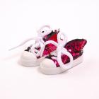 Обувь для игрушек (Кеды) AR 1053  3.5*4*7 см розовые блестящие 7728280