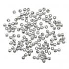 Бусины Астра 7722537 пластик. металл. 4 мм (уп 15 гр) гематит
