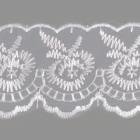 Кружево капрон  40 мм 0574-2020 (уп. 9,14 м) 170 брусника