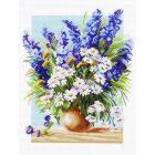 Рисунок на канве МП (37*49 см) 1142 «Голубой фонтан»