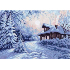 Рисунок на канве МП (37*49 см) 1356 «Мороз»