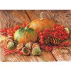 Рисунок на канве МП (37*49 см) 1754 «Дачный сезон»