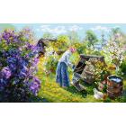 Рисунок на канве МП (37*49 см) 1932 «Деревня»