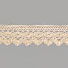 Тесьма вязаная 30мм TBY-6585 (уп. 25 м) 01 натуральный