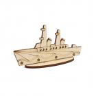 Заготовка для декора L-1391 «Корабль» 3*6*11см 558424