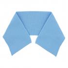 Воротник трикотажный 3AR1192 8*36 см голубой 7729029