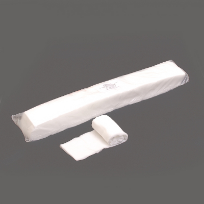 Воротнички парикмахерские спанлейс белый 7*40 см, плотность 40, уп. 100 шт. листы в интернет-магазине Швейпрофи.рф