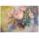 Набор «Живопись цветной шерстью 554069 Розы» 21*29,7 см