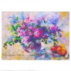 Набор «Живопись цветной шерстью 697296 Сирень» 21*29,7 см