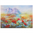 Набор «Живопись цветной шерстью 697297  Тянь-Шань» 21*29,7 см