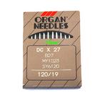 Иглы пром. маш. ORGAN DC*27 №120 (уп. 10 шт.)