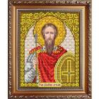 Рисунок на ткани «Славяночка» А5 ИС-5065 Св Артемий 13*17 см