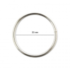 Кольцо разъемное TSW 35*3 мм уп.100 шт. никель 613909