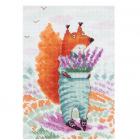 Набор для вышивания Кларт 8-233 «Лаванда для нее» 13*18,5 см
