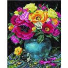 Алмазная мозаика Подсолнух UA230 «Разноцветные маки» 40*50 см на подрамнике