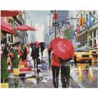 Алмазная мозаика Подсолнух UA278 «Дождливое утро» 40*50 см на подрамнике