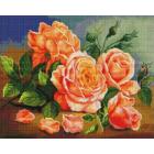 Алмазная мозаика Подсолнух UA307 «Розы» 40*50 см на подрамнике