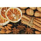 Алмазная мозаика Подсолнух UD117 «Орехи и корица» 20*30 см на подрамнике