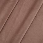 Ткань 50*59 см  AR1001 Бархат трикотаж 102 коричневый 7728242