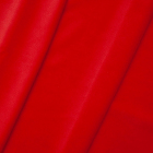 Ткань 50*59 см  AR1001 Бархат трикотаж 145 красный неон 7728242