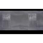 Шторная лента 100 мм 1000 «на трубу» (уп. 50 м) прозр. 558805