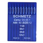 Иглы пром. маш. Schmets DA*1 №80 для машин 97 кл. (уп. 10 шт.)