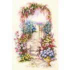 Набор для вышивания Чудесная Игла  №110-001 «Садовая калитка» 23*34 см