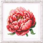 Набор для вышивания Чудесная Игла  №150-009 «Красный пион» 11*11 см